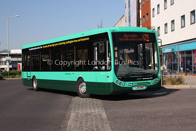 25131, YJ59NNZ, Norfolk Green