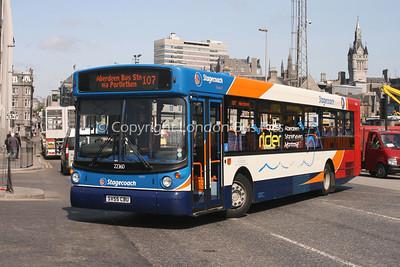 22360, SV55CBU, Stagecoach Bluebird