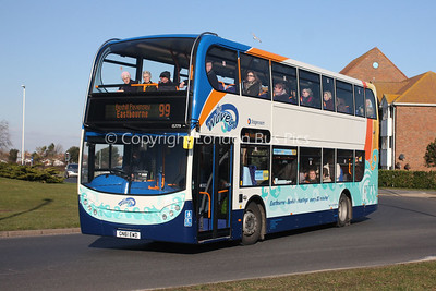 15779, GN61EWD, Stagecoach in Hastings