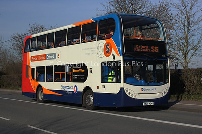 15443, KX08KZK, Stagecoach in Oxfordshire