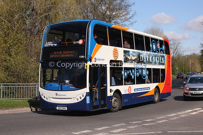 15806, GX12DXU, Stagecoach in Hampshire