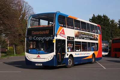 15543, GN59EWS, Stagecoach in East Kent