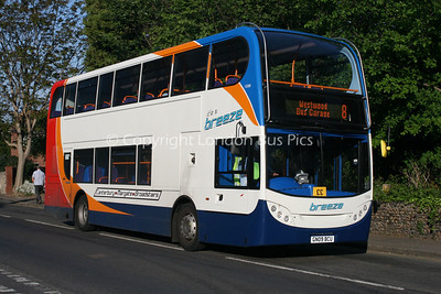15500, GN09BCU, Stagecoach in East Kent