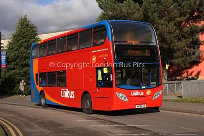 10035, KX12GXD, Stagecoach in Warwickshire