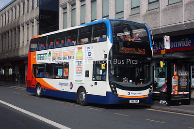 10631, SN16OXP, Stagecoach in Newcastle