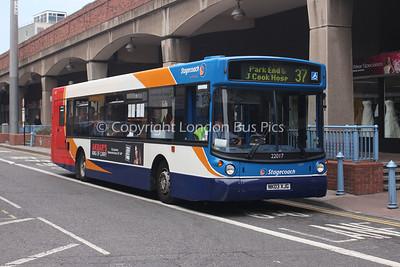 22017, NK03XJG, Stagecoach in Teeside