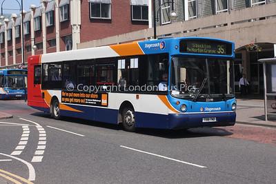 22199, T199TND, Stagecoach in Teeside