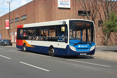 36893, GN13HHK, Stagecoach in East Kent
