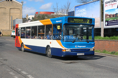 34435, KV53EZM, Stagecoach in East Kent