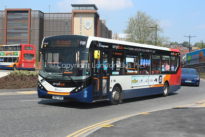 37460, SN67WVB, Stagecoach East Midlands