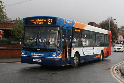 22417, FX06AVG, Stagecoach in Lincolnshire