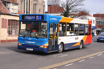 33153, V583XTL, Stagecoach in Lincolnshire