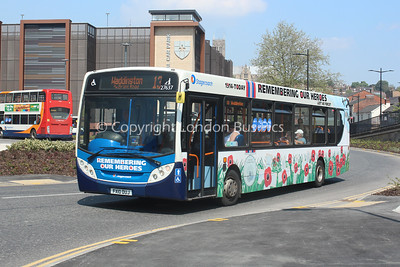 27637, FX10DUJ, Stagecoach East Midlands