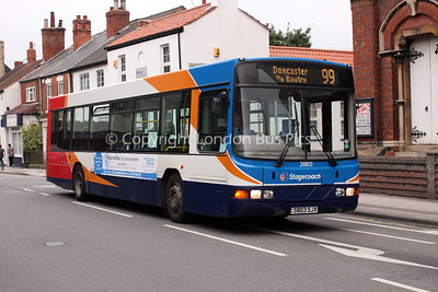 28803, S803SJV, Stagecoach in Lincolnshire
