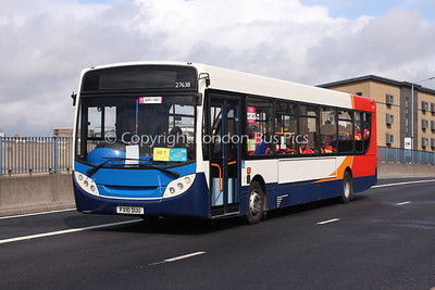 27638, FX10DUU, Stagecoach in Lincolnshire on loan to Stagecoach UK Bus Events