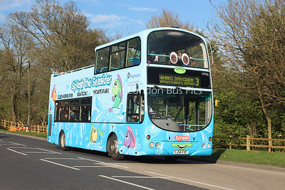 16965, YJ04FZF, Stagecoach in Lincolnshire