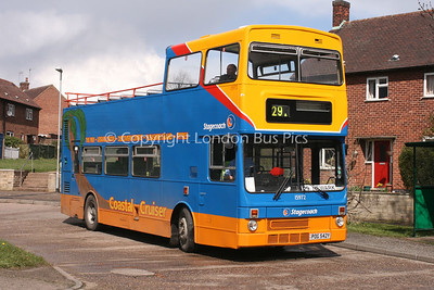 15972, POG542Y, Stagecoach in Lincolnshire