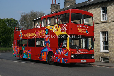 16545, WLT908, Stagecoach in Cambridge