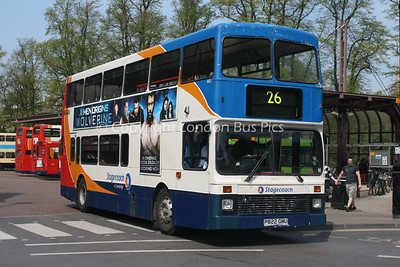 16022, P822GMU, Stagecoach in Cambridge