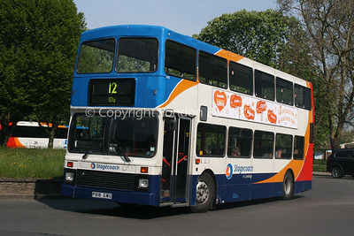 16018, P818GMU, Stagecoach in Cambridge