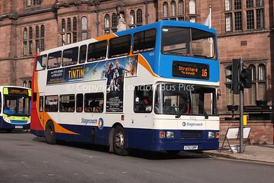 16223, S763DRP, Stagecoach in Warwickshire
