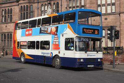 16078, R178VPU, Stagecoach in Warwickshire