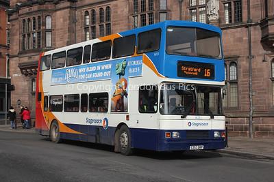 16223, S753DRP, Stagecoach in Warwickshire