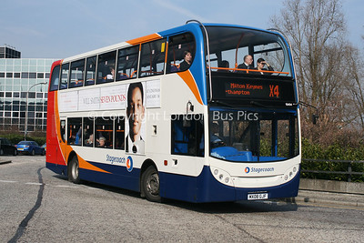 15454, MX08GJF, Stagecoach in Northants
