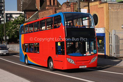 10041, KX12GXK, Stagecoach in Warwickshire working for Stagecoach UK Bus Events