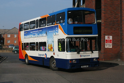 16693, R693DNH, Stagecoach in Northants