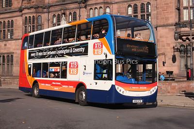 15674, KX10KTD, Stagecoach in Warwickshire