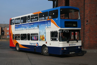 16691, P691JBD, Stagecoach in Northants