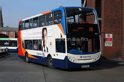 15448, MK08GHO, Stagecoach in Northants