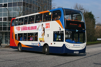 15444, MX08GHH, Stagecoach in Northants