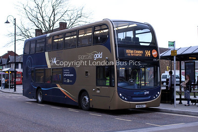 15750, KX61DLY, Stagecoach United Counties