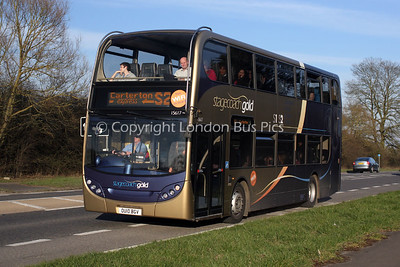 15617, OU10BGV, Stagecoach in Oxfordshire