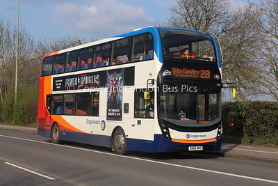 10687, SN66WHG, Stagecoach in Oxfordshire