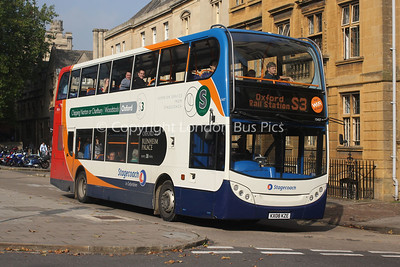 15437, KX08KZE, Stagecoach in Oxfordshire