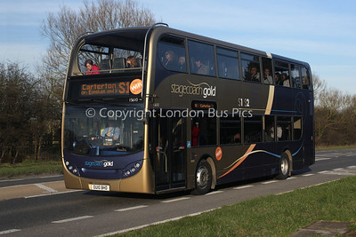 15610, OU10BHD, Stagecoach in Oxfordshire