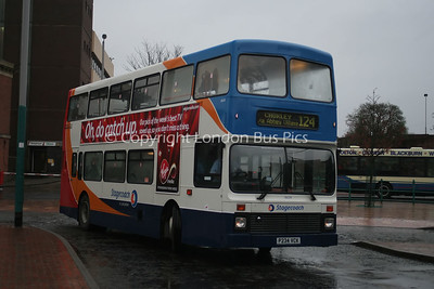 16634, P234VCK, Stagecoach in Lancashire