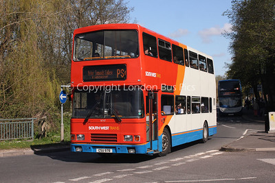 16767, CSU978, Stagecoach in Hampshire
