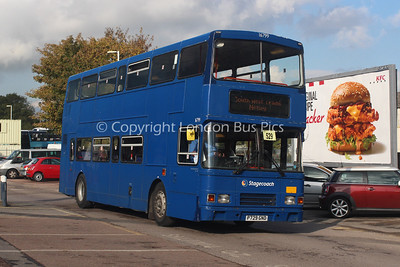 16799, P729GND, Stagecoach in Hampshire