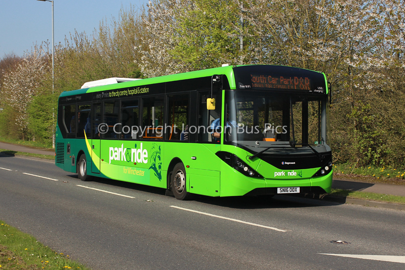 26045, SN16OOX, Stagecoach in Hampshire