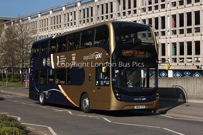 10762, SN66VYG, Stagecoach Hants & Surrey