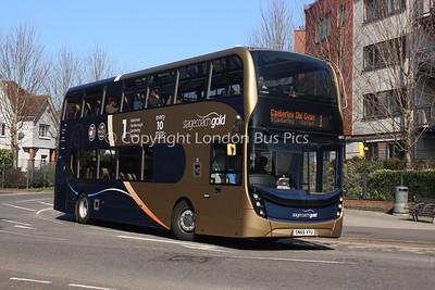 10773, SN66VYU, Stagecoach Hants & Surrey