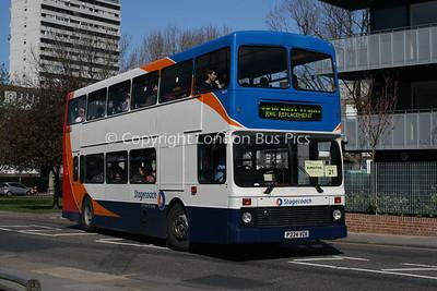 16624, P224VCK, Stagecoach Hants & Surrey