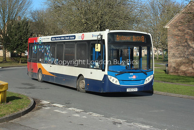 36918, YX63GYA, Stagecoach in Hampshire