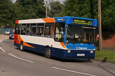 32075, M75VJO, Stagecoach in Hants & Surrey