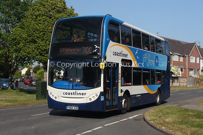 15988, YN64XSR, Stagecoach in the South Downs