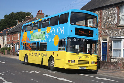 16281, P281VPN, Stagecoach in the South Downs